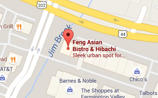Map of Feng Restaurant in Canton, CT
